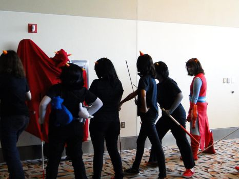 Otakon 2011 Terezi....your facing the wrong way by Firetsuki18