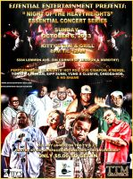 essential concert series, night of the Heavywe by tmarried