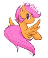 Scootaloo by mewgal