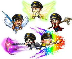 .: Maplestory :. by TheJokersCards