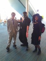 NF Comicon : Me, Beetlejuice, Lydia by TheWarRises