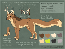Alpine Reference Sheet 2013 by WickedSpecter