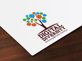 Digital Diversity Logo by kh2838