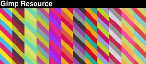 ColorStripe Gimp Pattern by giesdesign