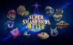 Super Smash Bros. 4ever All-Stars Wallpaper 3 by RoxasXIIkeys