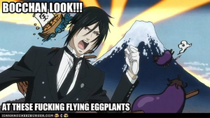 [Kuroshitsuji] - FUCKING FLYING EGGPLANTS by Ciel-Phantomhive-Fan