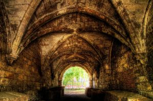 Mediaeval Underpass by taffmeister