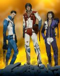 Commission:Seekers by doubleleaf