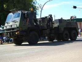 Army Cargo Truck Parade by sidneyj06