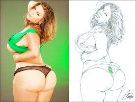 LONDON ANDREWS ST. PATTY'S DAY SIDE2SIDE 1 by Artistik-Bootya