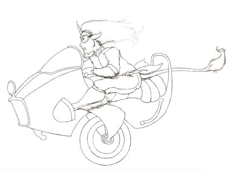 WIP - VROOM by Inkerbel