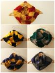 I made all the house colour scarves! by Tessa4244
