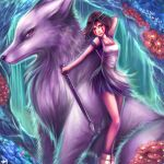 Princess Mononoke by Sukesha-Ray