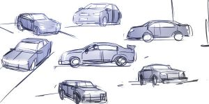 Practice : Cars by ManiacPaint