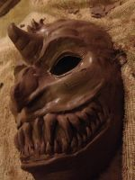 Demon Theater Mask by Randanopterix