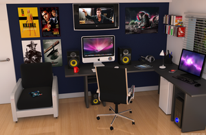 Erick's Workspace 1.0 by machinesix