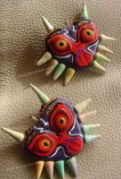 Majora's Mask Charms by Eliwi