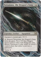 Magic Card Alteration: Tatsumasa, the Dragons Fang by Ondal-the-Fool