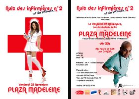 Flyer nuit des infirmieres by ouissla