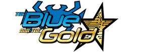 Logo The Blue and The Gold by galeriaatomica