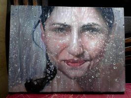 Painting oil on canvas 20 by 24 by artmaste