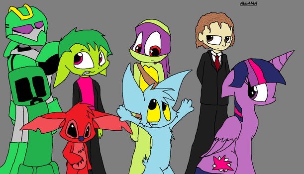 Say hello to... everyone by lpffpf