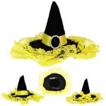 Wizarding Badger Mini Witch House Hat by Cosplayfangear