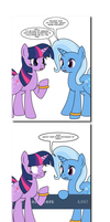 Ask Twixie Tumblr: Milestone 5 by Dekomaru