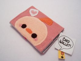 Pudding Chicken Card Wallet by quacked