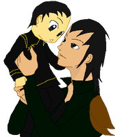 Father and Son Gene and Loki by Finny-KunGoddess
