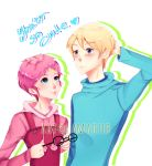 Aelita and Jeremy by Lama0113