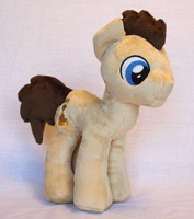 Doctor Whooves Plush by Nifty-senpai
