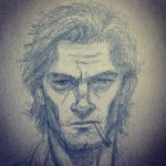 Bigby Wolf drawing by JesusIsMyHomie