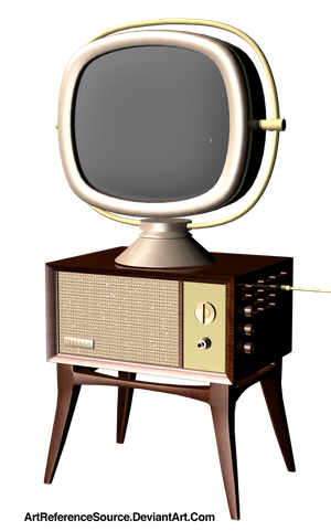 RetroTV png by ArtReferenceSource