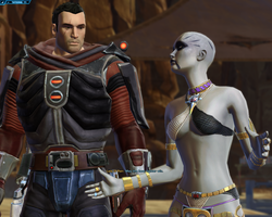 SWTOR Character - Siegfried by agentsniper