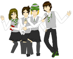 Slytherins Forever by sonicnshadow321