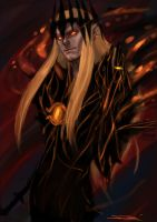 The Mighty Sauron by rosythorns