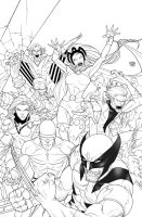 Cover Uncanny X-Men First Class 3 - High Res by rogercruz