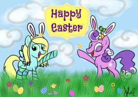 Pegasisters Live Happy Easter- (Screwball) by Vet2B