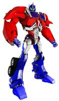 Transformers Prime G1 colored Optimus Prime by DCSPARTAN117