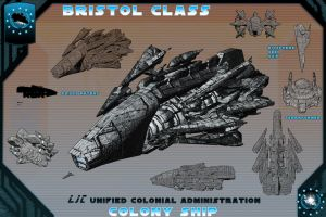 Bristol Fashion, Colony Ship by samurairyu