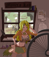 Monet In Steampunk World by Lits295