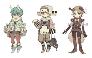 Music adopts (CLOSED) by pidies