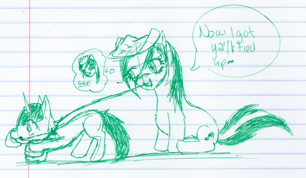 got bored doodled something by Ask-Nightmare-Moloon