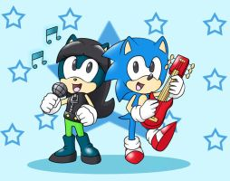 AT.chant y sonic by D-Winter