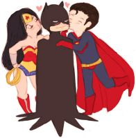 Holy Trinity Batman by Cherrie-Keane