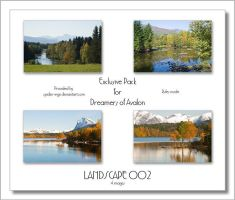Exclusive Pack - Landscape 002 by spider-inge