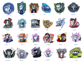all my tf ocs by kalascee