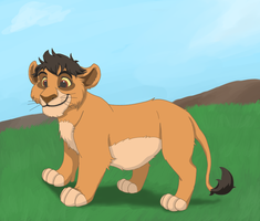 Hasani - Kiara and Kovu's son by Mobbins