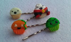 Halloween Themed Bobby Pin Set by Gynecology